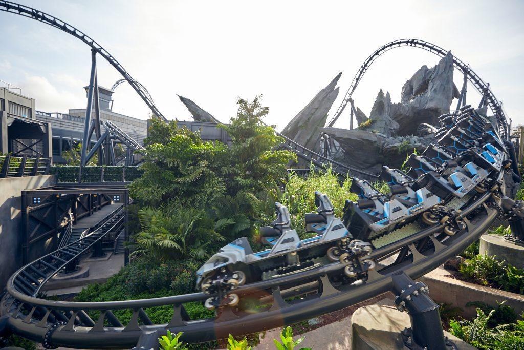 new Jurassic park coaster