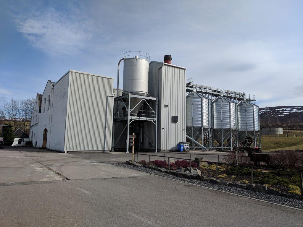 Caorunn distillery spey