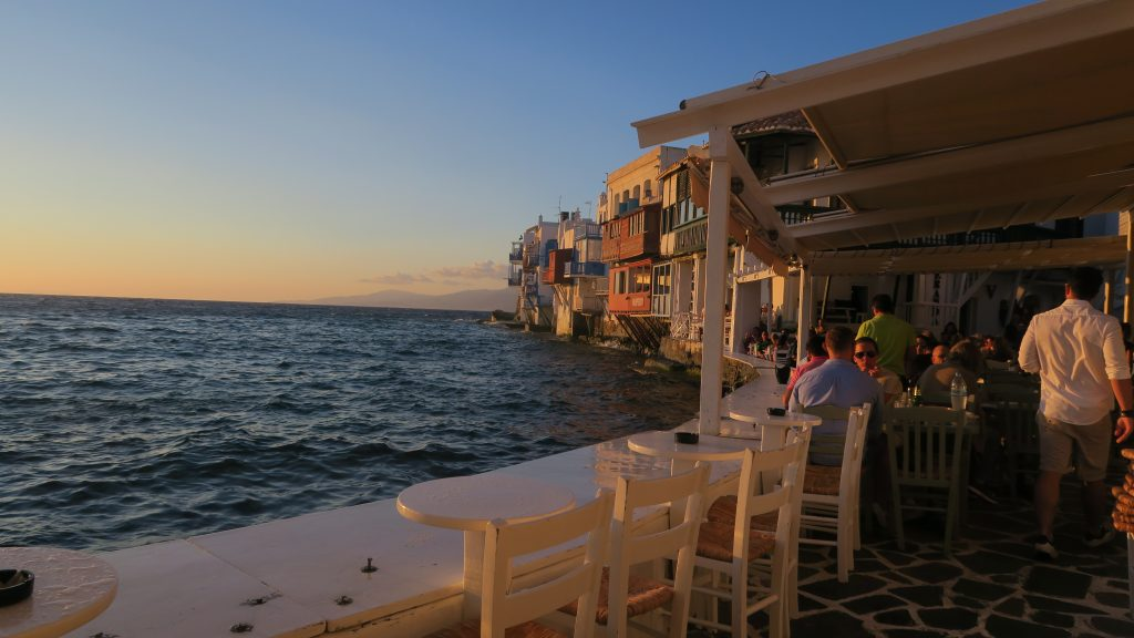 best sunset mykonos