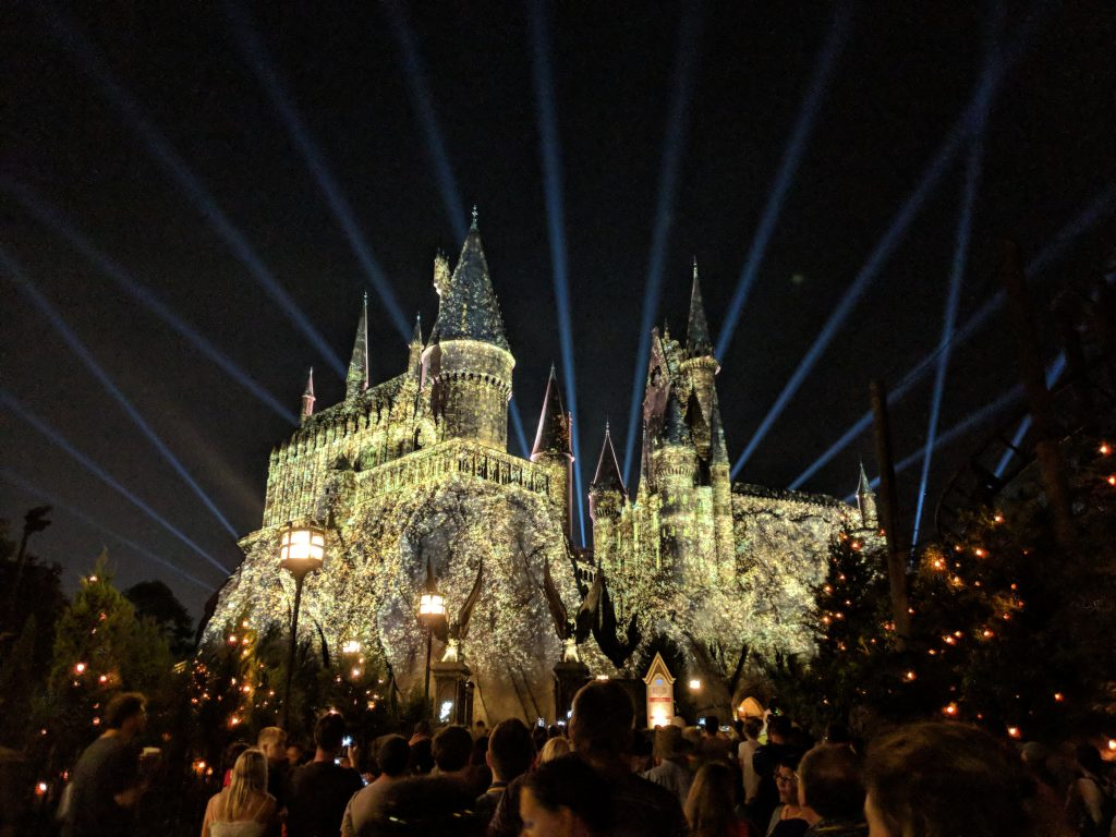 harry potter firework show universal