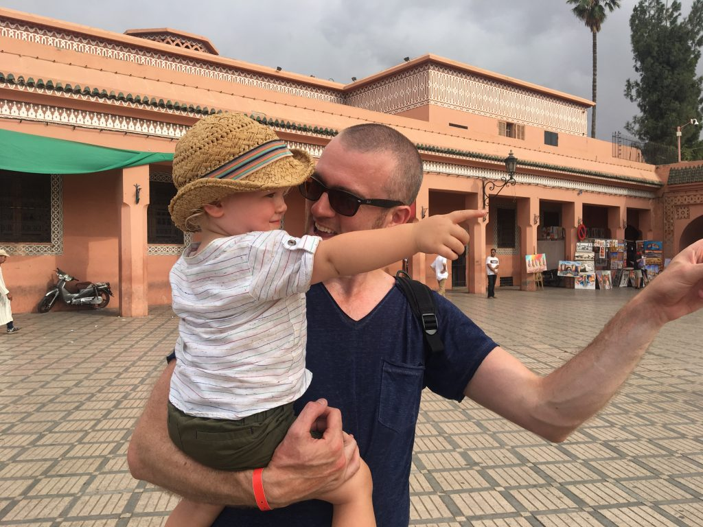 Marrakech with baby