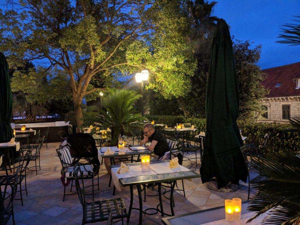 imperial hilton dubrovnik restaurant