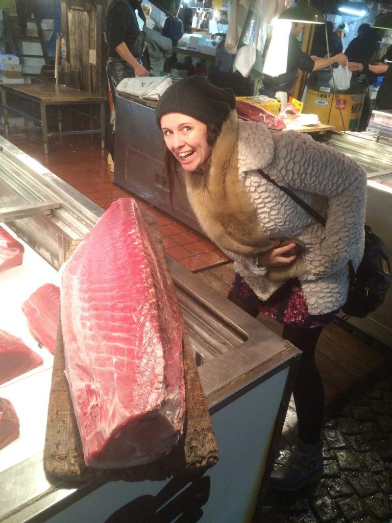 new Tsukiji Fish Market tokyo kyoto osaka itinerary