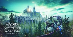 new Harry Potter ride Hagrid's Magical Creatures Motorbike Adventure