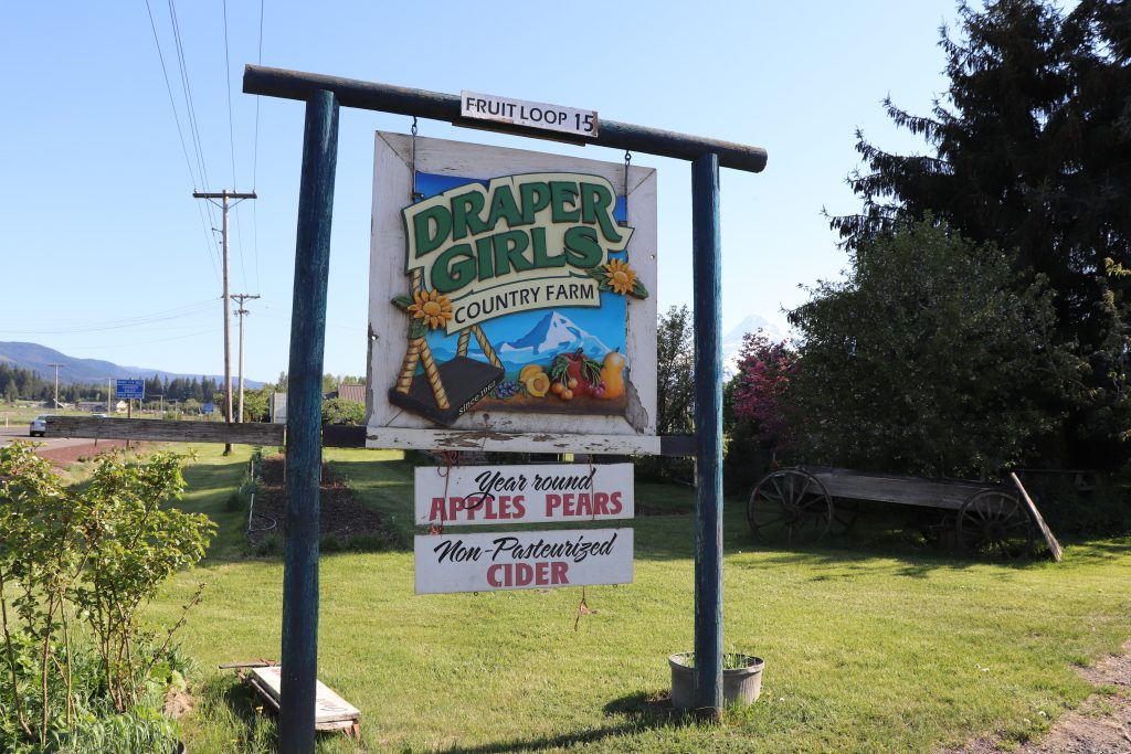two-week US west coast road trip Oregon RV best hood river what to do