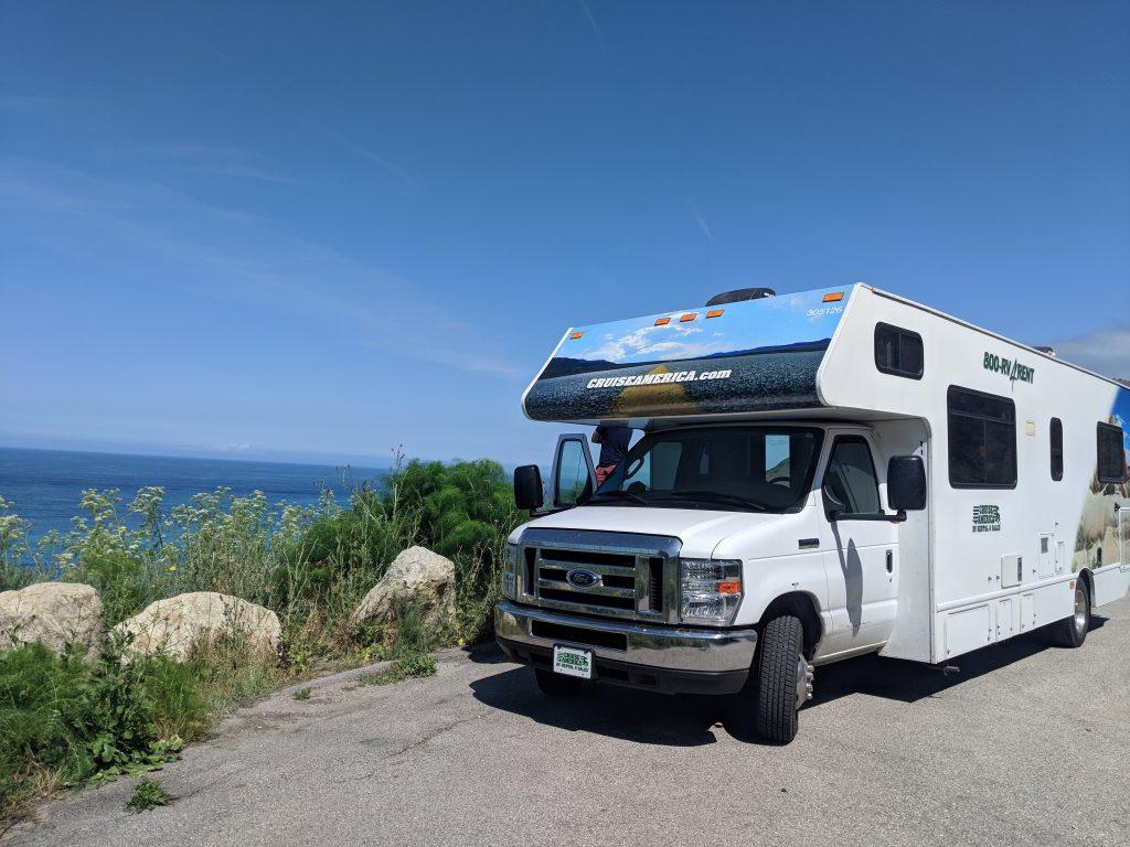 Cruise America RV rental Portland San Francisco west coast road trip