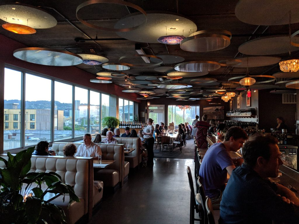 rooftop restaurants in portland