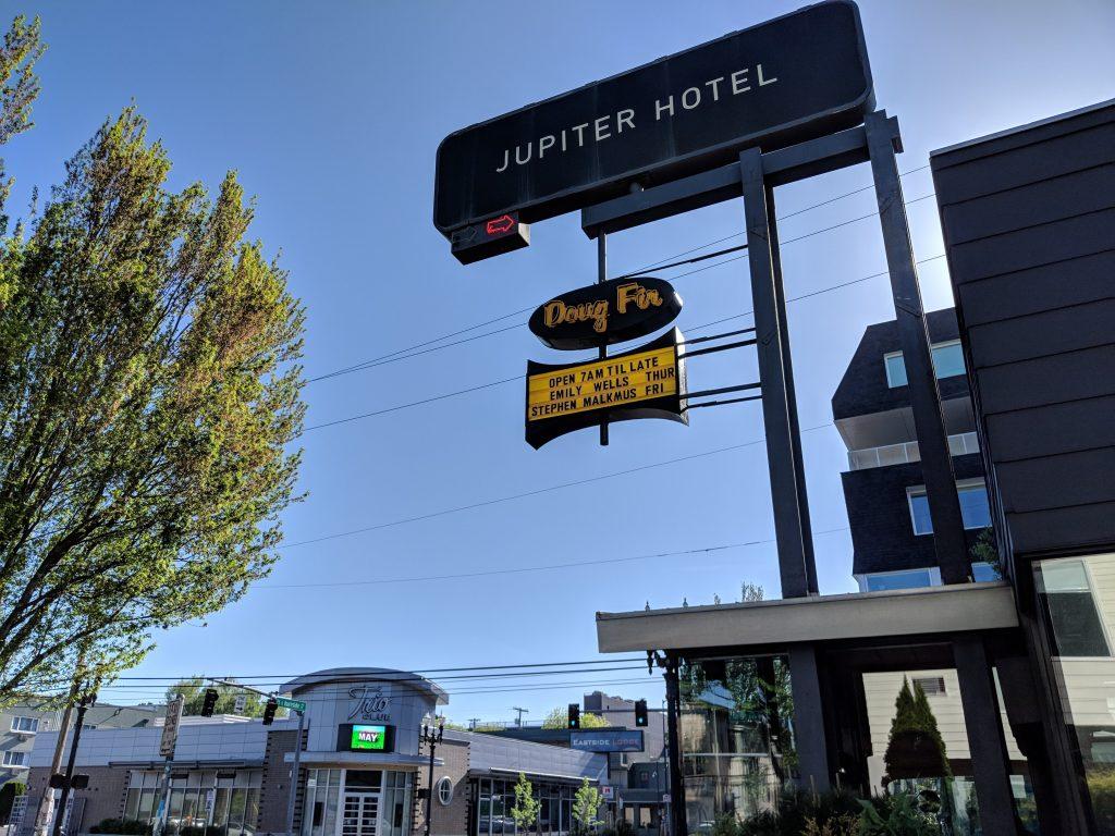 jupiter hotel portland two-week US west coast road trip Oregon