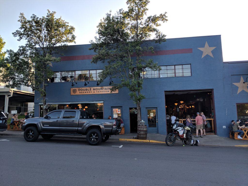 two-week US west coast road trip Oregon RV best restaurant hood river