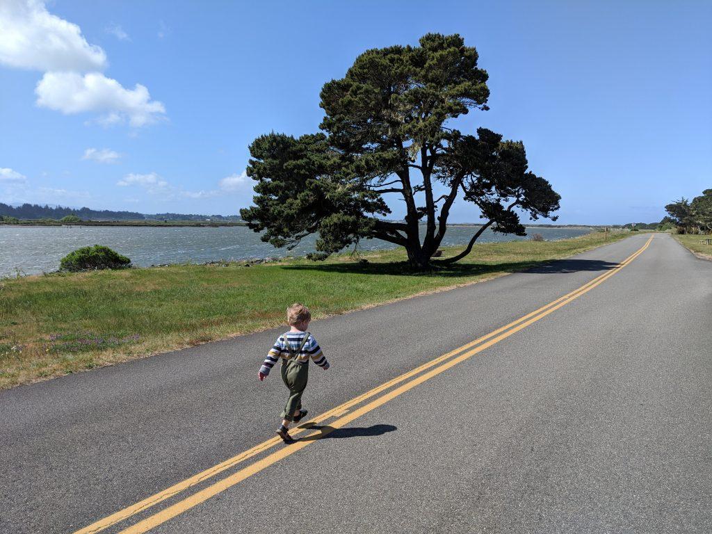 two-week US west coast road trip Oregon RV Bandon