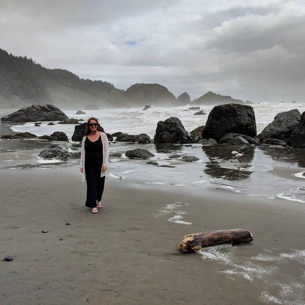 two-week US west coast road trip Oregon RV beach