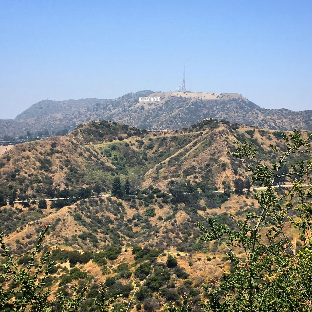 los angeles itinerary 3 days hollywood sign