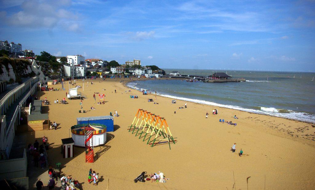 beaches in kent beaches