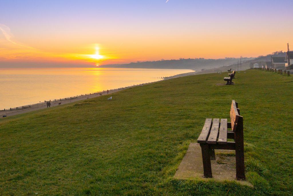 best beaches in kent beaches sunset