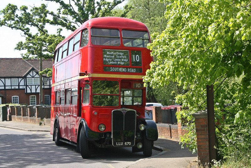 buses in essex old london bus