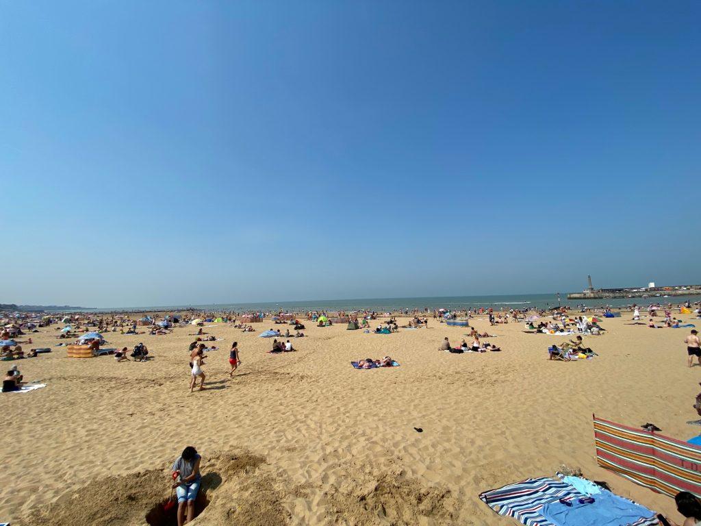 best beaches in kent beaches