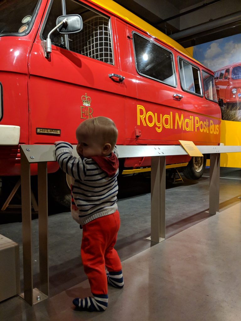 london for toddlers mail train
