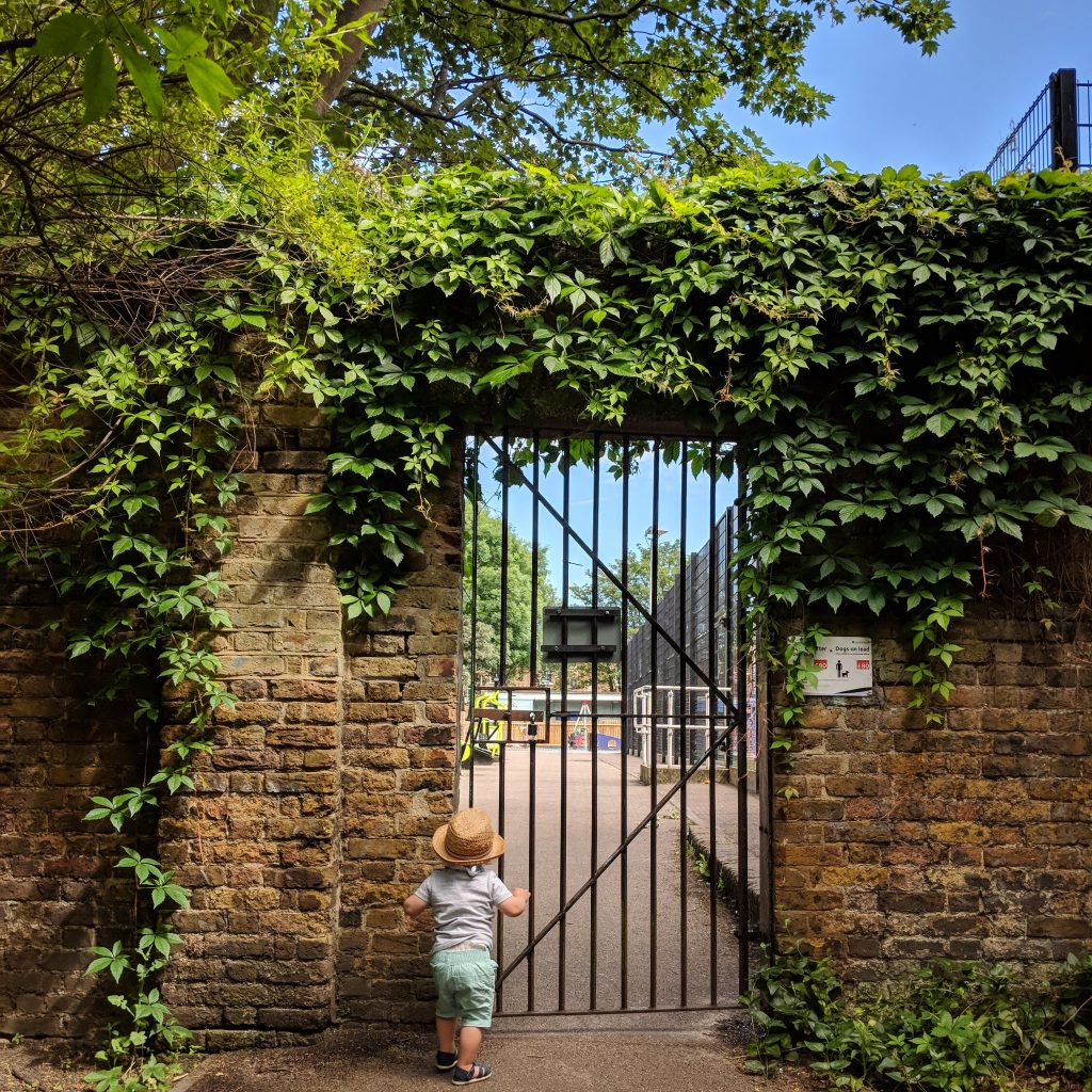 secret gardens in london