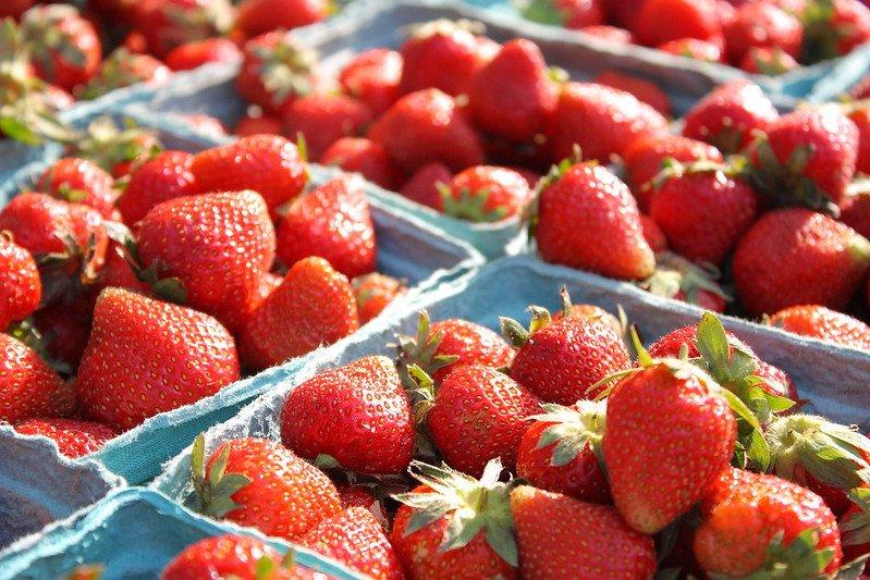 PYO strawberries essex