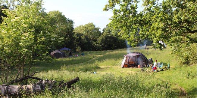 campsite in kent